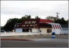 Gem In & Out - Caldwell, ID (Vintage Roadside) Tags: vintageroadside drivein restaurant googie midcentury caldwell idaho burgers