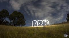 Fast clouds (MISHKA Vision - Light Graffer) Tags: australie australia lightpainting lightgraff longexposure expositionlongue nightphotography roadtrip