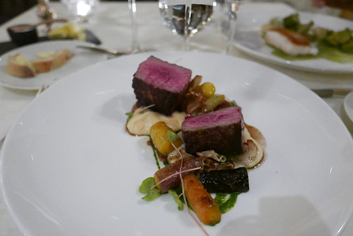 Angus Charolais Beef, Wild Carrot, Wild Mushroom, Carrot with Sweet Clover, Parsnip and Sweet Grass