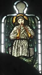 [45619] St Editha, Tamworth : Musician (Budby) Tags: tamworth staffordshire church window stainedglass preraphaelite