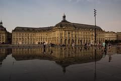 Bordeaux - 02 (hr.herve) Tags: miroir reflets reflect reflet bordeaux aquitaine architecture nouvelleaquitaine france quai 2006 3450m sudouest garonne gironde placedelabourse place bourse