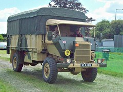 274 Bedford RL (Fitted with Mineprotected Cab) (1966) (robertknight16) Tags: bedford british 1960s military rl mineprotected truck lorry luton 10aj83