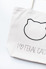 I  Feral Cats Tote (kayleighkosmas) Tags: crafts cat portland tote diy