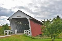 Imes Covered Bridge (stevelamb007) Tags: bridge imes madisoncounty iowa stevelamb nikon d7200 nikkor18200mm stcharles coveredbridge 1870