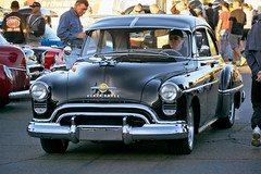 1950 Oldsmobile 88 Coupe Resto Mod with SBC (Pat Durkin OC) Tags: 1950oldsmobile 88 coupe restomod sbc black