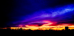 Psychedelic sunset (Wouter de Bruijn) Tags: fujifilm x100t fujifilmx100t fujinon23mmf2 sunset dusk evening color lsd acid psychedelic vibrant colorful nature outdoor