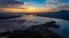 Shoalhaven Delta (Andy Hutchinson) Tags: australia shoalhavenheads aerial sunset shoalhaven nsw newsouthwales au