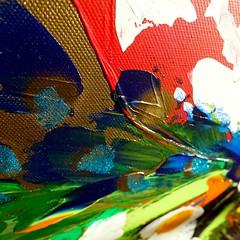 """Close up """"The colors"""" 🔎 (Magnus Dacke) Tags: magnus dacke 2016 art konst hässleholm sweden sverige light sun"""