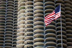 Balcony city (GER.LA - PHOTO WORKS) Tags: architecture architektur chicago urban city modern muster textur geometrisch linien marinacitychicago towers corncobtowers