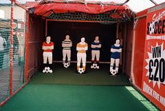 Football (tom_t.photography) Tags: blackpoolsouthpier blackpool minoltahimatics2 agfaphoto200vistaplus 35mmfilm