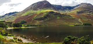 Buttermere and its rugged Crags