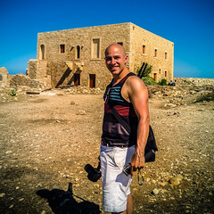 Rethymno_Fortress_Selfie_Medium (schukri) Tags: greece greek honeymoon eurotrip europe mediterranean rethymno steven