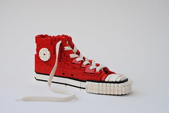 Converse Chuck Taylor All Star (AnActionfigure) Tags: lego sculpture shoe sneaker all star chuck taylor converse