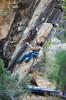 Spencer Heyoke (Nana&Bump) Tags: climbing rockclimbing bouldering sport action adventure utah extreme fitness nature albionroseproductions albionrose heyoke tatonka huntington boulder fun happy desert canyon sandstone movement climber rockclimber