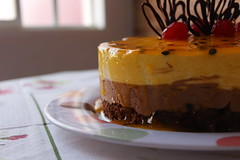 02 (gustavditullio) Tags: cake bolo coffee caf macro food comida chocolate maracuj peace happiness