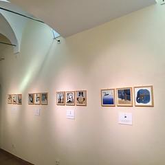 "My personal exhibition ""Ten nights of dreams"" (mhasegawa165) Tags: show exhibition tennightsofdreams novel watercolour illustration"