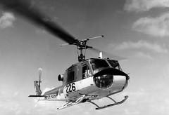 Curaao 1968 - 1970 via Gijs de Jong (Pabo5) Tags: bellhelicopter mld iroquois heli vliegtuig hefschroefvliegtuig