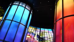 P1040029 (Nog-Z) Tags: 台湾 高雄 カオシュン 地下鉄 駅 taiwan kaohsiung subwaystation 美麗島駅 ステンドグラス formosaboulevardstation stainedglass