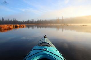 La saison de kayak tire malheureusement déjà à sa fin!