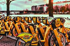 Helsinki (Tuomo Lindfors) Tags: helsinki suomi finland topazlabs adjust restyle kaupunkipyr citybike polkupyr bike tamronsp70200f28divcusd