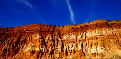 The red rocks of Albufeira