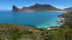 Beautiful Bay (Ron Scubadiver's Wild Life) Tags: landscape cape town south africa nikon 24120 seashore coastal sea water hills sky bay beach