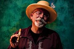 (xxthecountxx) Tags: dannyvaldz 2016 sonyalphaa99 pauldominguez cigar puro tobacco tobacconist minoltaaf85mmf14g cubano mexicano mustache goatee strawhat guayabera chattanooga eniza ceniza