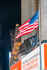 611 - New York - Times Square an Kreuzung Broadway und Seventh Avenue - 28.10.16-LR (JrgS13) Tags: aida aidadiva aufnahmebereiche indiansummer kreuzfahrt nachtaufnahmen newyorkcity nordamerika reise timessquare newyork usa