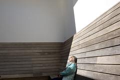 Resting woman 01 Aug 2016 copy (Jeremy Webb Photography) Tags: jeremywebb 2016 sunlight sun snooze sleep rest bench woman houghtonhall norfolk