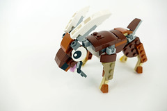 "Goat - LEGO Creator 31044 Alternate MOC (""grohl"") Tags: goat animal ¨creator lego 31044 mammal fun cute alternate cmodel grohl666 milan reindl"
