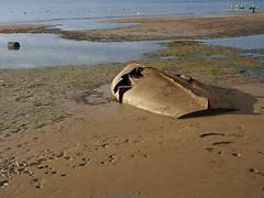 Bassa marea... (@oloarge) Tags: bassamarea lowtide mare gabbiani barca relitto sea boat wreck