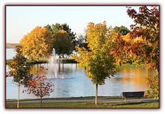 Autumn's Fountain Breeze HBM (bigbrowneyez) Tags: autumn flickrautumn beautiful colourful fabulous trees water river fountain flickrfountain fontana nature natura bello bellissimo acua fume delightful amazing awesome special dof bench happybenchmonday leaves colori foglie alberi fresh details unique ottawariver gatineauhills ottawaontario canada quebec sunny bright cielo sky autumnsfountainbreeze