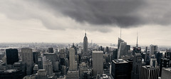 Manhattan (Stefano93DL) Tags: manhattan newyorkcity newyork empirestatebuilding topoftherock america skyscapers clouds urban architecture cityscape city landscape