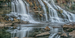 Base of Twin Falls, Rock Island State Park, Rock Island, TN (Gordon Magee) Tags: twinfalls sparta rockislandstatepark
