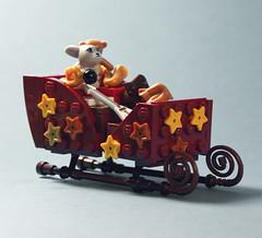 Advent Calendar (Palixa And The Bricks) Tags: lego moc adventcalendar northpole sleigh