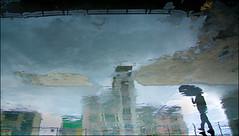 F-147A0342-2-Canon 5DIII-Canon 24-105mm-May Lee  (May-margy) Tags:  maymargy          streetviewphotographytaiwan  linesformandlightandshadows  mylensandmyimagination  naturalcoincidencethrumylens      taiwan repofchina f147a03422 portrait raining puddle buildingbloks reflection blur bokeh floor humaningeometry taipei city canon5diii canon24105mm maylee