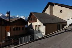 Isrables (bulbocode909) Tags: valais suisse isrables villages maisons chalets montagnes automne bleu