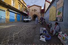 Medina Exit (T Ξ Ξ J Ξ) Tags: morocco chefchaouen sefasawan d750 nikkor teeje nikon2470mmf28 blue city