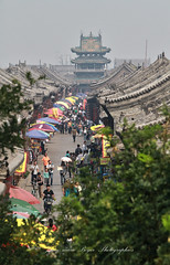 Centre ville Pingyao (jmboyer) Tags: chi0622 pingyao ©jmboyer travel voyage géo yahoo photoyahoo nationalgeographie photogéo lonely gettyimages picture lonelyplanet getty images imagesgoogle canonfrance canon