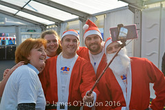 Selfie time with the Smith Bros (James O'Hanlon) Tags: santadash santa dash katumba liam smith paul stephen liamsmith paulsmith stephensmith alankennedy philipolivier tinhead alan kennedy btr juliana ritchie photo shoot press ice rink icerink lfc