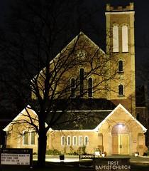 First Baptist Church (Will S.) Tags: mypics brampton ontario canada church churches christian christianity protestant protestantism baptist peelregion regionofpeel peelcounty