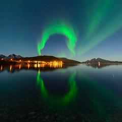 magic circle (John A.Hemmingsen) Tags: auroraborealis arcticlight tromsø nordnorge norway night northernlights