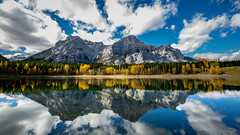 Wedge Pond Reflections (epe3x) Tags: canada canada2016 flickr kanada see teich wald wasser wedgepond wolken clouds epe3x forest lake water