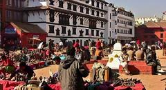 NEPAL, Kathmandu - unterwegs in der Altstadt, 15021/7658 (roba66) Tags: platz markt market reisen travel explore voyages urlaub visit roba66 nepal asien südasien asia city stadt capitol kathmandu durbarsquare building architektur architecture arquitetura kulturdenkmal monument haus house häuser bau fassade façade places historie history historic historical geschichte urban