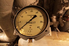 ' . .' (metres of water) gauge (Marcus Wong from Geelong) Tags: russia submarine saintpetersburg  sovietnavy sovietsubmarines189 project613b