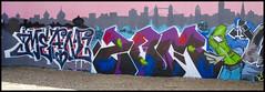 Mean / Zomby (lewis wilson) Tags: city urban london graffiti urbanart damage halloffame mean bomb trellicktower hof zomby ukgraff ldngraffiti
