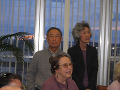 Hiroshi Gunji, Toshiko Gunji and (?), Madison (ali eminov) Tags: friends celebrations madison colleagues awards professors honors mathematicians honorarydoctorate gunji gunjis honoringwalter