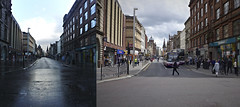 January and June 2013 7 (route9autos.co.uk) Tags: june scotland town glasgow centre union apocalypse january queen after beforeandafter argyle crowds