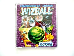 Wizball C64 (zapposh) Tags: ocean game ball computer box retro gaming disk cover computing commodore commie trade c64 diskette trades wizz commodore64 wizball
