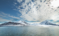 Like fragile ice anger passes away in time (Tony-graphy) Tags: norway svalbard snowylandscape snowymountains norwegianfjord norwegiansea norwegianmountains norwegianlandscape polarlandscape tonygraphy tonygrav